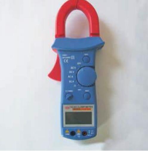 Pinça amperimétrica digital AC / DC