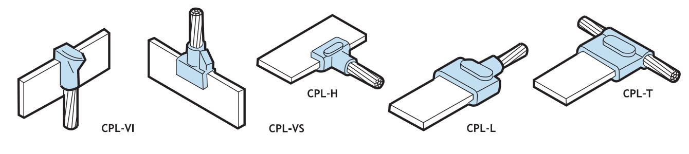 Ligações típicas - CABO/BARRA