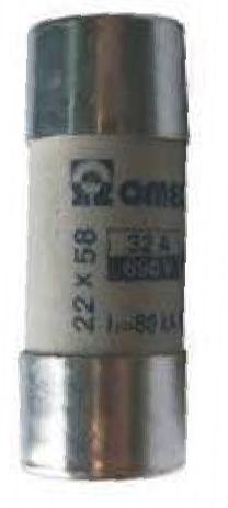 Fusíveis cilíndricos - 22x58