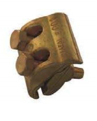 Ligador compacto em latão para cobre