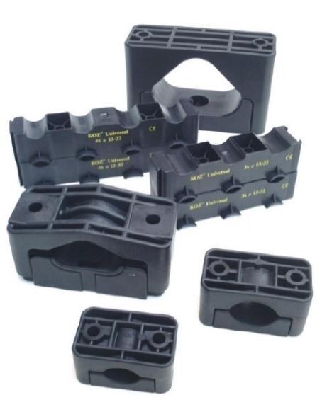 Abraçadeira plástica para cabos KOZ